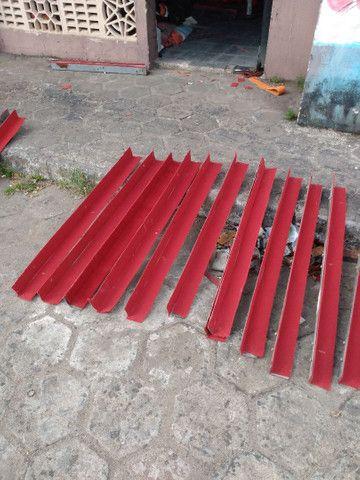 Jogo de Cantoneiras de aço forradas chapa 14 (Promoção) - Foto 4
