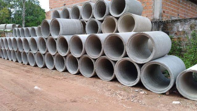 Blocos de concreto, Tubo de concreto, Estrutura Galpão Premoldado