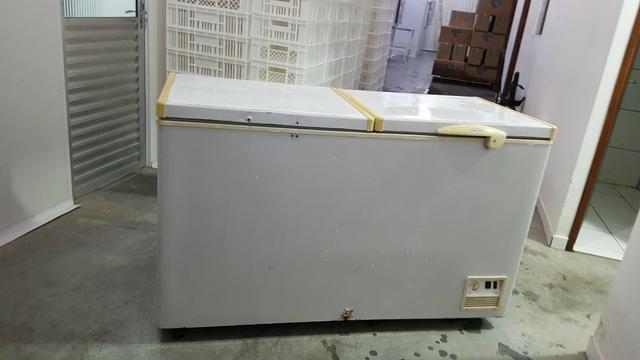 Freezer Horizontal Fricom 504 litros - Dupla Ação -duas portas - Foto 2