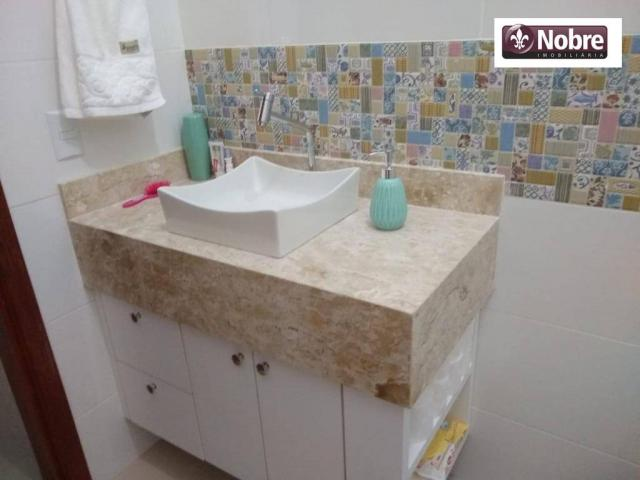 Casa com 3 dormitórios à venda, 167 m² por R$ 435.000 - Plano Diretor Sul - Palmas/TO - Foto 14