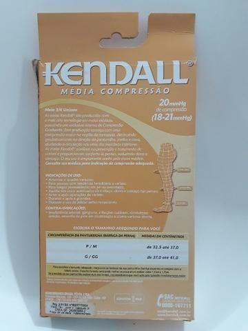 Meia Kendall 3/4 de média compressão - Foto 2