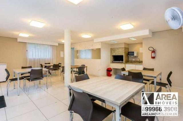 Apartamento com 2 dormitórios à venda, 62 m² por R$ 205.000 - Santa Quitéria - Curitiba/PR - Foto 14