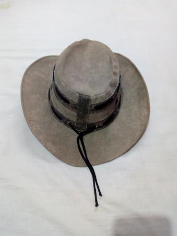 Vendo um Chapéu Cowboy de Couro simples cor cinza (veja descrição) - Foto 4