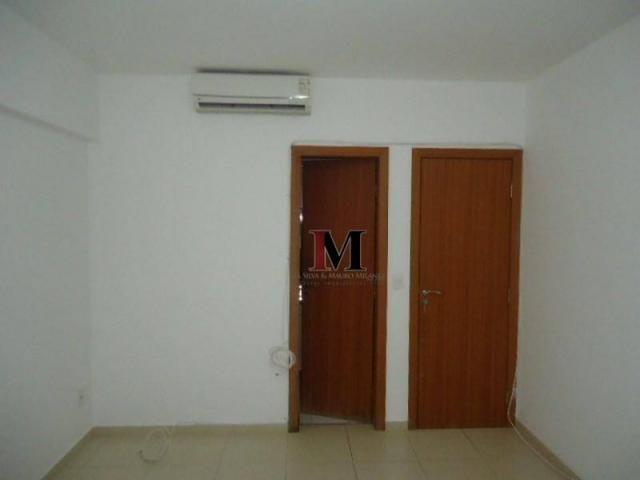 Alugamos apartamento com 3 quartos climatizado e armario de cozinha - Foto 13