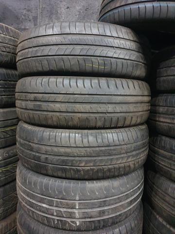 4 pneu 195/65/15 Michelin 70 % d borracha (Valparaiso)