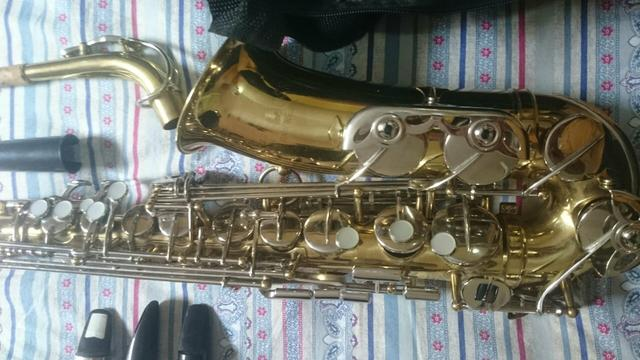 Saxofone Alto Csr 3 boquilhas