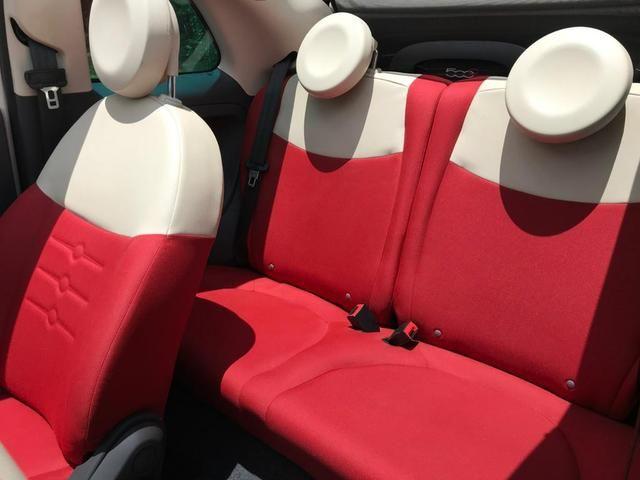 Fiat 500 cabriolet 2014 ( conversível ) automático completo muito novo confira!!!! - Foto 8