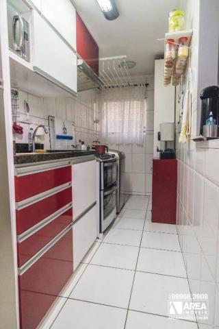 Apartamento com 3 dormitórios à venda, 62 m² por R$ 211.000 - Santa Quitéria - Curitiba/PR - Foto 8