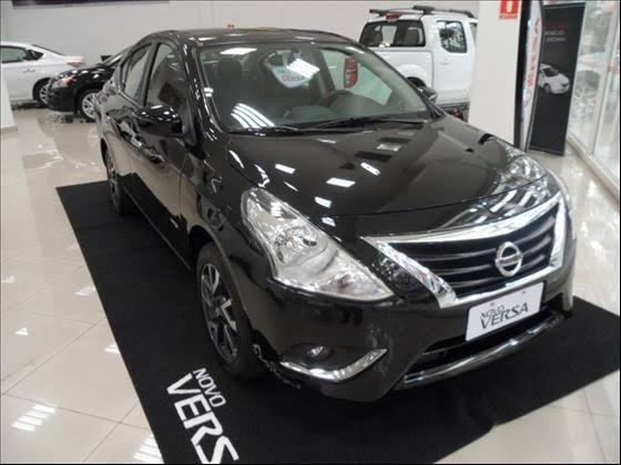Nissan Versa SL 1.6 2017 GNV
