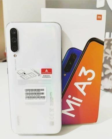 Xiaomi Mi A3 Dual Sim 64 Gb 4 Gb Ram Com Garantia De 6 Meses Azul/Branco