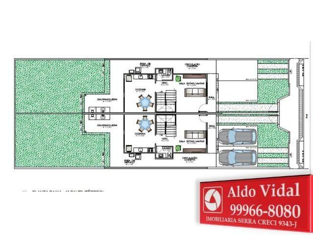 ARV 91 Duplex 3 Qrtos, Médio Padrão, Área gourmet com Churrasqueira, Amplo Quintal, Morada - Foto 17