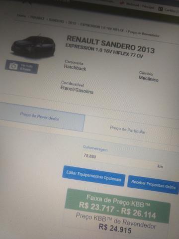 Sandero 1.0 16v 2012/2013 completo - Foto 6