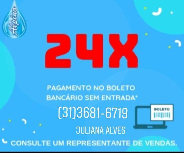 Ju- Promoção Black Month Piscina 8 x3,20 com Praia em 24 x no boleto s/ entrada