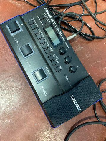Combo Epiphone Les Paul + amp valvulado bugera e pedaleira Boss gt-1 - Foto 4
