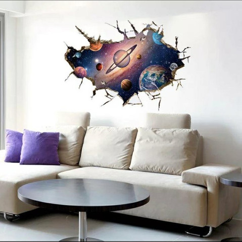 Adesivo 3D Galaxia - Foto 2