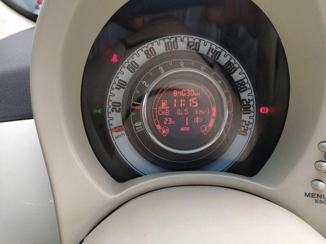 FIAT 500 DUAL 1.4 COMPLETO ANO 2012 - Foto 11