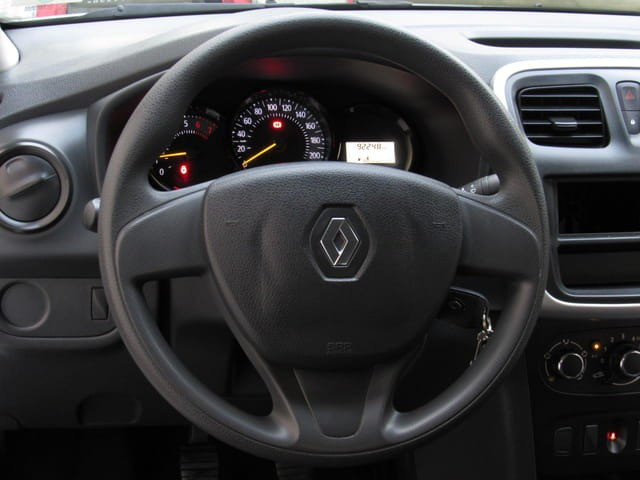 Renault - Logan Autentique 1.0 12v Flex, 2019, Branco, Completo, Financia total 100%, Uber - Foto 9