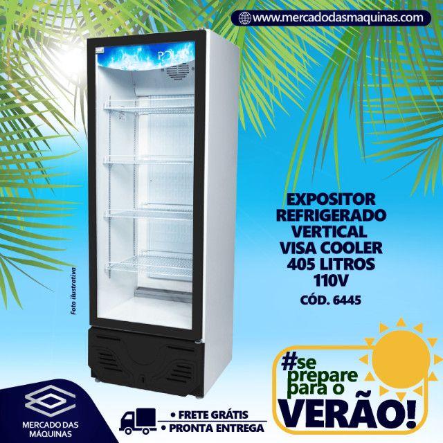 Expositor refrigerado vertical visa cooler Polar 405L Novo Frete Grátis