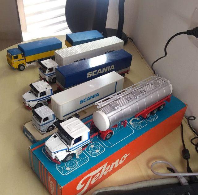 Caminhões miniatura scania  - Foto 5