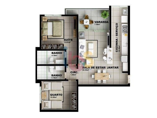 Apartamento à venda, 3 quartos, 3 suítes, 2 vagas, São Francisco - Ilhéus/BA - Foto 12