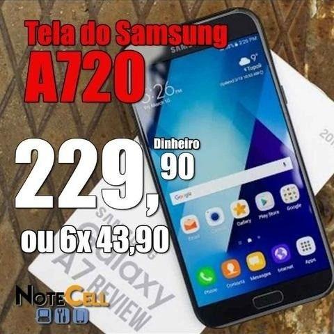 Tela / Display para Samsung A7 2017 (A720 Com Brilho)