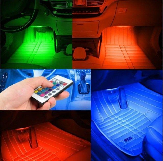 Led neon para tapetes de carros no ascendedor de cigarros - Foto 4