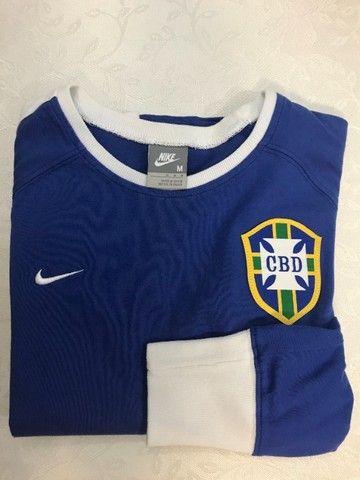 Linda Blusa Nike Seleção Feminino tam. M - Foto 2