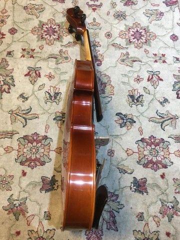 viola de arco rolim premium maestro lizuka serie limitada orquestra 42 - Foto 4