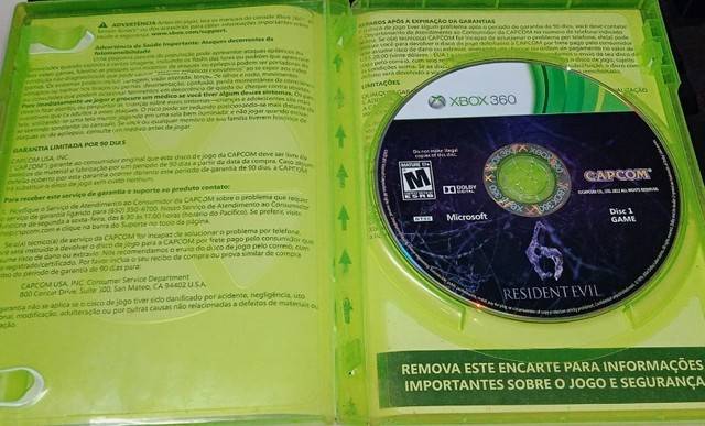 Resident Evil 6 Original Xbox 360 - Foto 2
