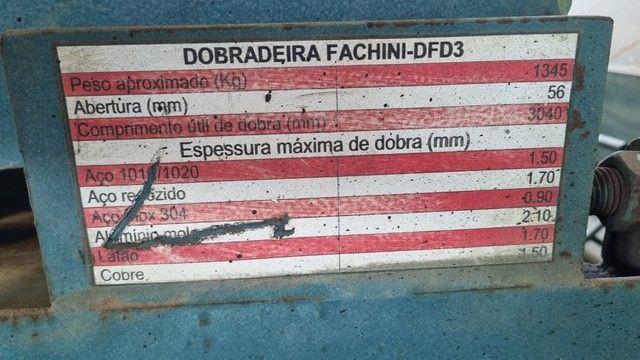 Dobradeira viradeira manual 3 metros dentada - Foto 3
