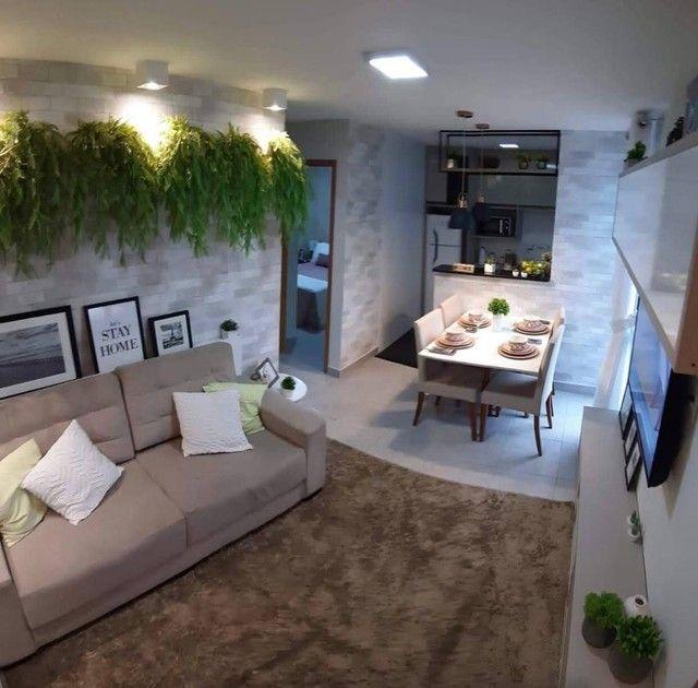 Apartamentos 2 quartos 42m com elevador no planalto | Vista das copaibas
