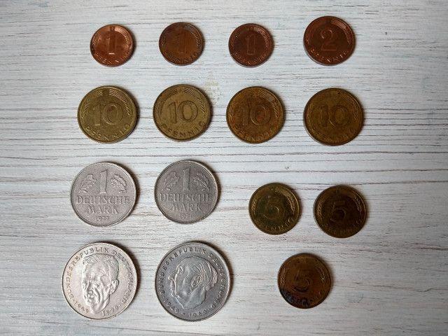 Moedas antigas numismática - Foto 2