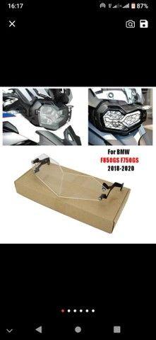 Protetor de farol em acrílico para BMW F850 GS 2020 - Foto 4