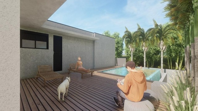 Casa com 3 dormitórios à venda, 255 m² por R$ 1.700.000,00 - Alphaville Nova Esplanada IV  - Foto 2
