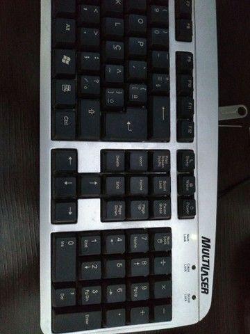 Computador Positivo completo com mesa - Foto 3