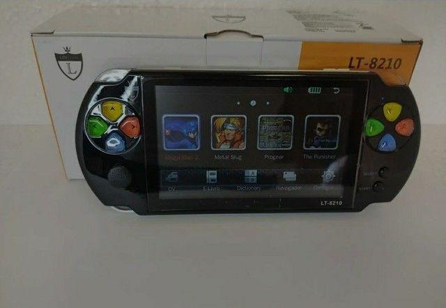 PSP Mini Vídeo Game Portátil Eony Mp5/6 Com Câmera - Foto 5
