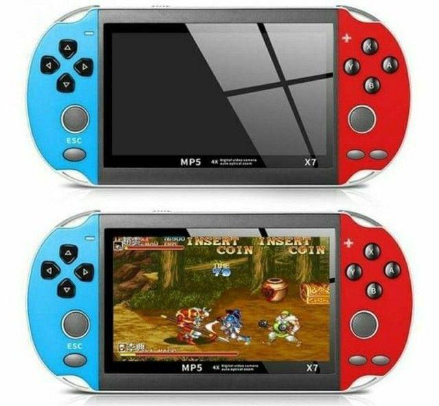 PSP Vídeo Game Portátil Mp3 Mp5 Retrô Tela 5.1 Polegadas - Foto 6