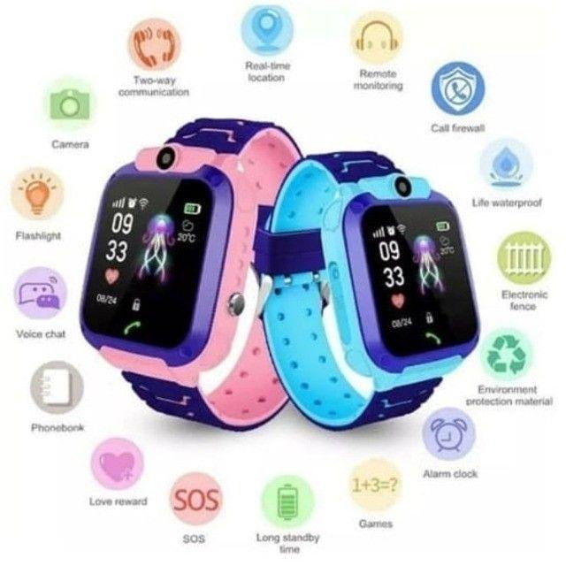 Relógio Smartwatch Infantil Com Gps - Até 6x sem juros! - Foto 3