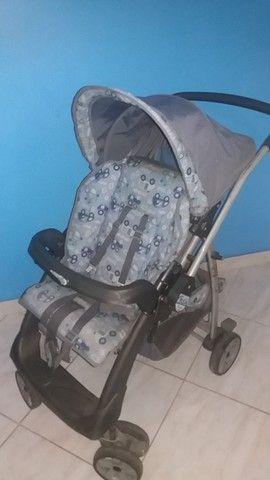 Carrinho de Bebê + Bebê Conforto - - Foto 2