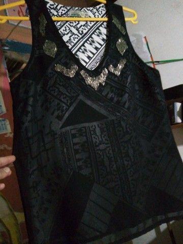 Camiseta feminina TAMANHO 38 M - Foto 3