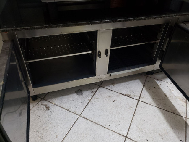 Bancada em granito com geladeira - Foto 2