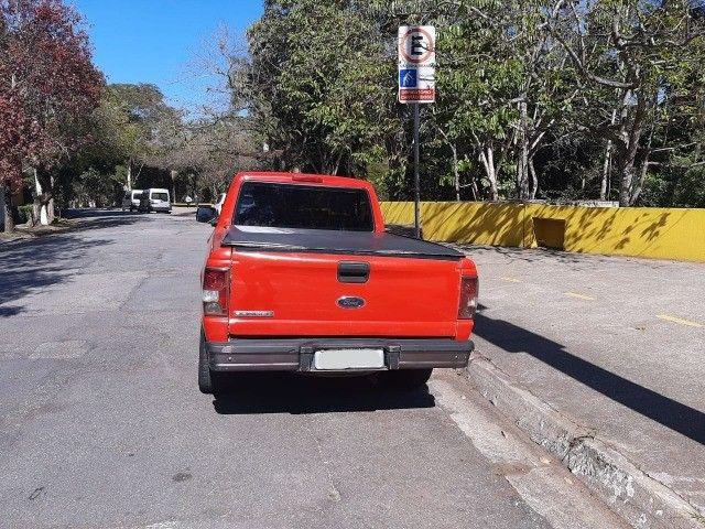 Ford Ranger 2008 Sport XLS 10A 4X2 - GNV 5° geração Motor 2.3 Completa  - Foto 7