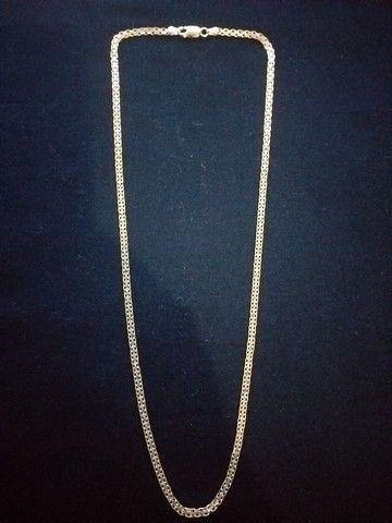 Cordão de prata italiana - Foto 2