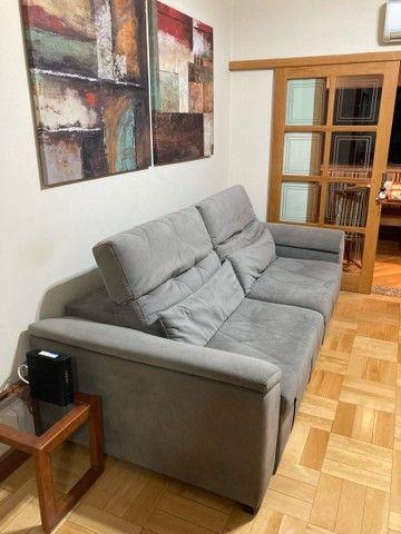 Sofá alto padrão - retrátil 2,5m - Foto 4