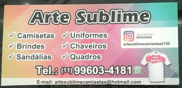 Camiseta para empresa apenas 30 reais com arte grátis - Foto 2