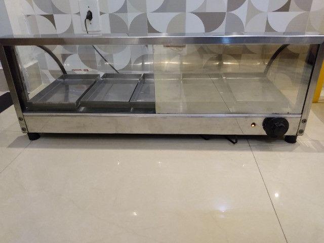 Vendo estufa elétrica de Salgados com 5 bandejas - Foto 3