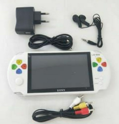 PSP Mini Vídeo Game Portátil Eony Mp5/6 Com Câmera - Foto 4