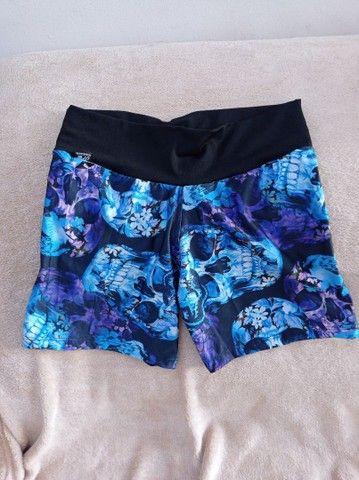 Short e calças fitness