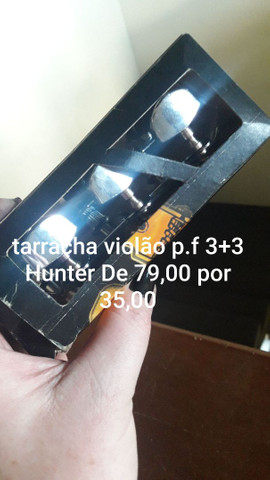 Tarracha Violão PF 3+3 Hunter