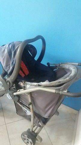 Carrinho de Bebê + Bebê Conforto - - Foto 5
